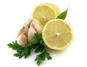 Чеснок с лимоном