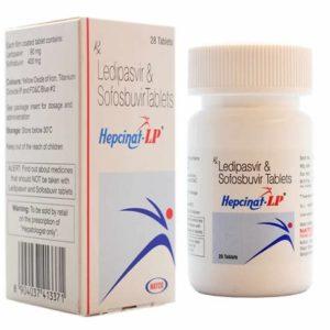 Таблетки Hepcinat LP