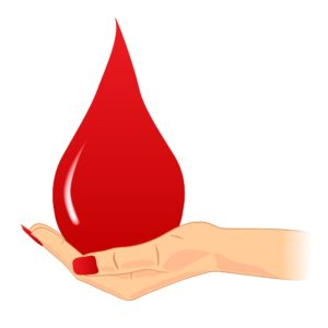 При контакте с инфицированной кровью велика вероятность заразиться
