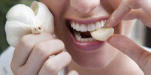 Чеснок содержит много микроэлементов и витаминов